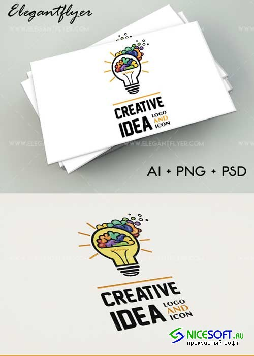 Creative Idea V1 Premium Logo Template