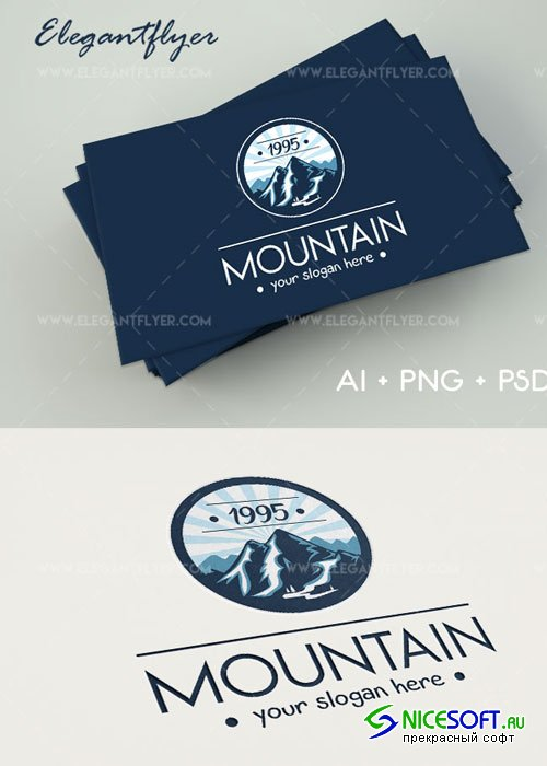 Mountain V1 Premium Logo Template