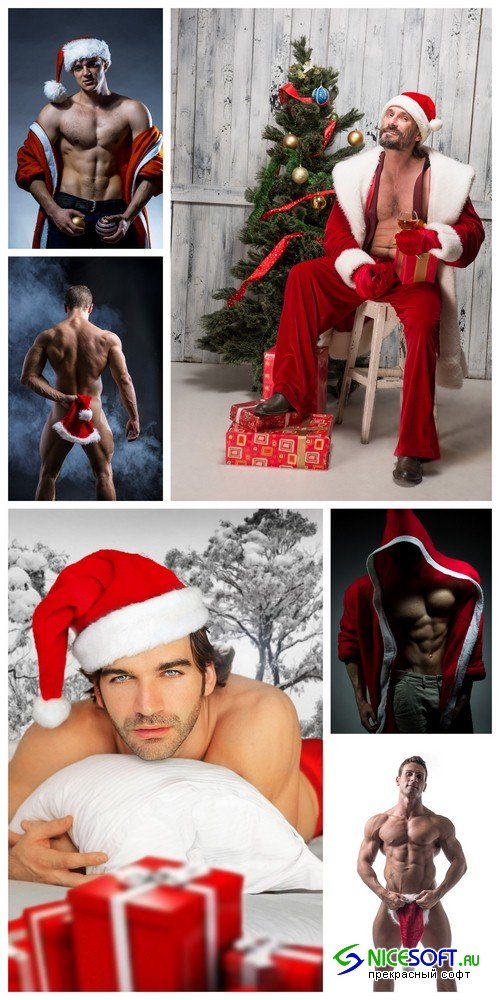 Man Santa Claus 1 - 6 UHQ JPEG
