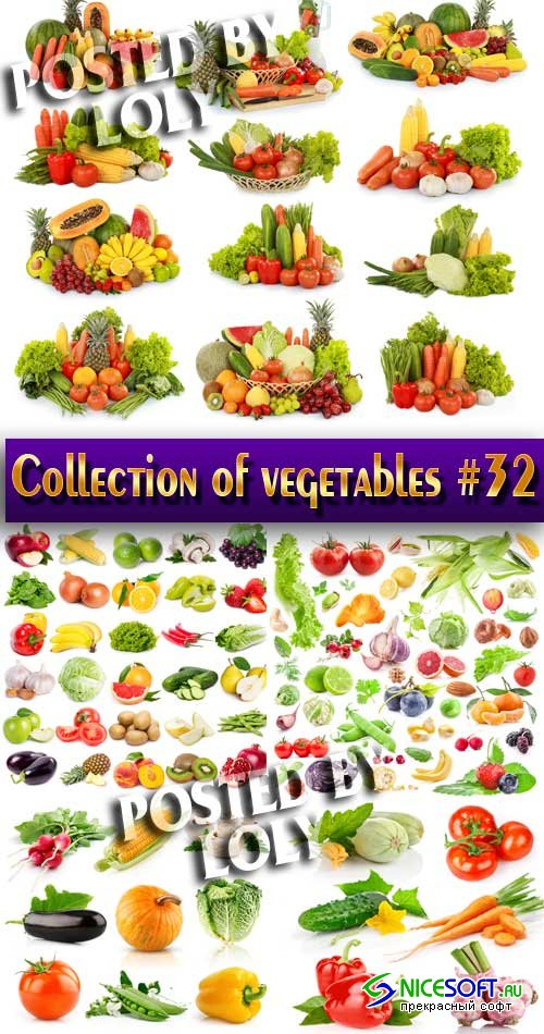 Food. Mega Collection. Vegetables #32 - Stock Photo