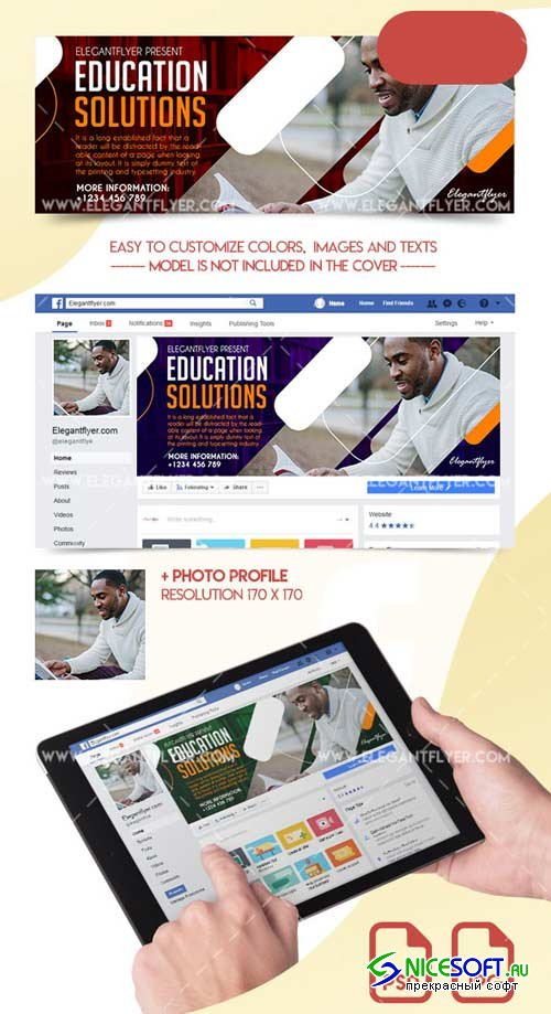 Education Solutions V1 2018 Facebook Cover