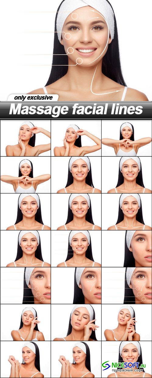 Massage facial lines