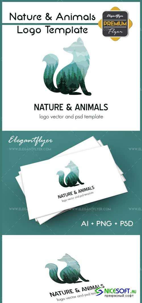 Nature & Animals V1 2018 Premium Logo Template