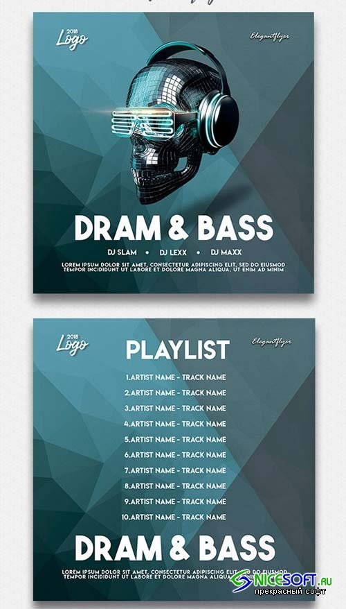 Dram And Bass V7 2018 Cd Cover