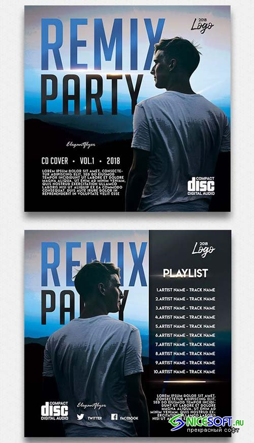 Remix Party V1 2018 Cd Cover