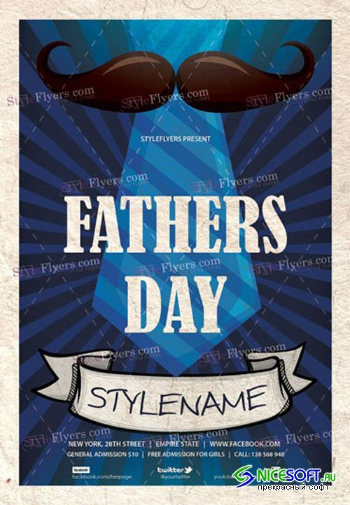 Fathers Day V9 PSD Flyer Template