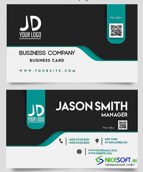 Business Company V9 2018 Card