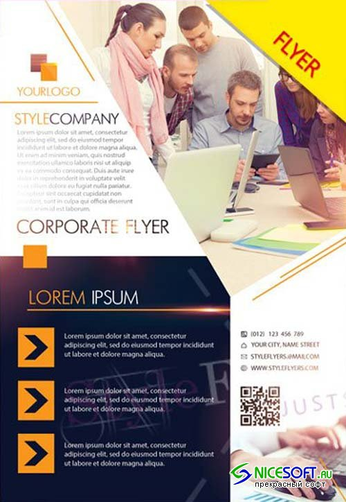 Corporate V38 2018 Flyer PSD