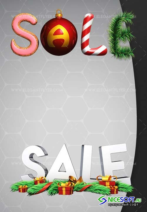 Christmas Sale V31 2018 3d Render Templates