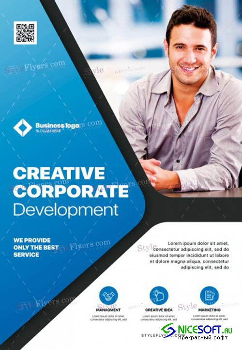 Corporate V1711 2019 PSD Flyer Template